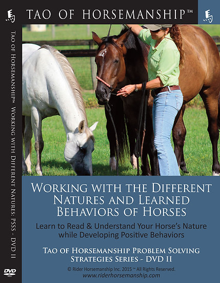 Working with the Different Natures and Learned Behaviors of Horses: PSSB DVD 2