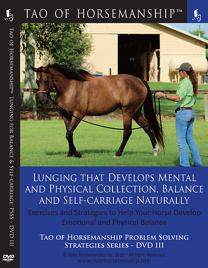 Lunging that Develops Mental and Physical Collection, Balance and Self-Carriage