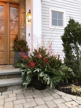 Short Hills Holiday Pots