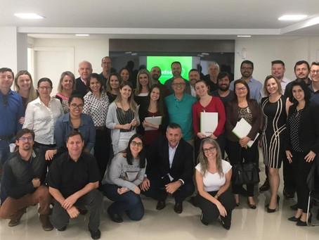 SindsegSC participa de encontro com Núcleo de Corretores da ACIF em Florianópolis