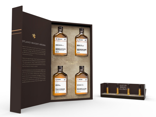 SCOTLAND WHISKY GIFTBOX
