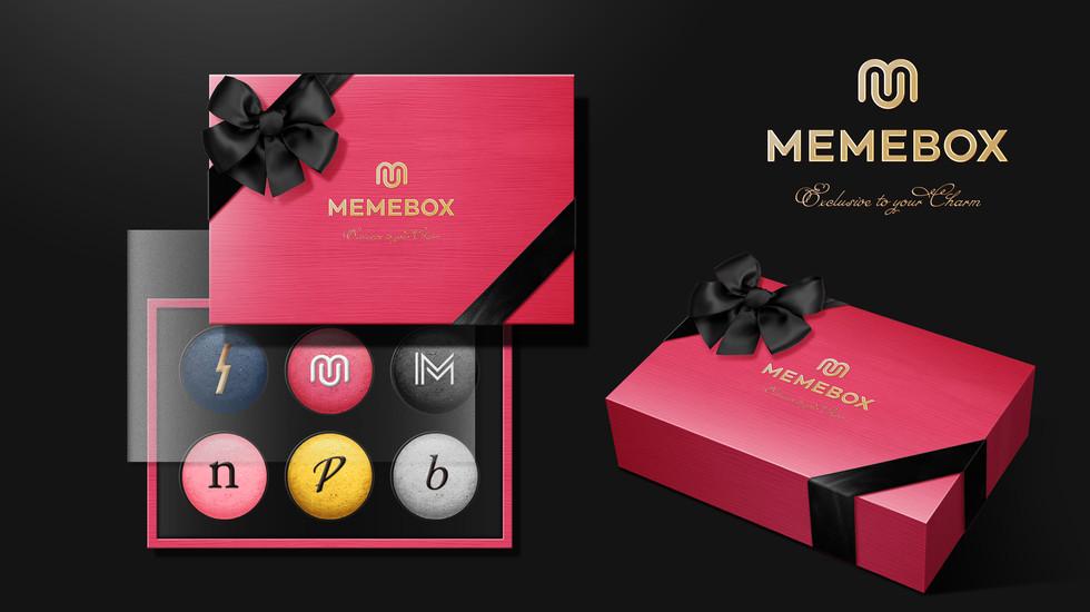MEMEBOX 品牌禮贈品設計
