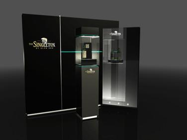 SINGLETON 蘇格登 品牌陳列設計
