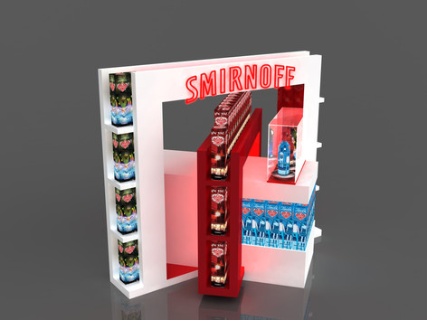 Smirnoff 品牌快閃店