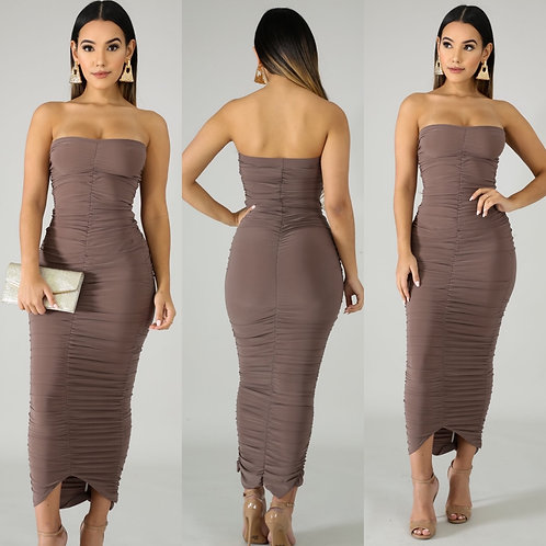 """The """"Ruching It"""" Dress"""