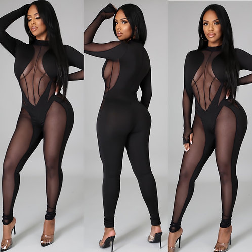 "The ""You See  Me"" Jumpsuit"