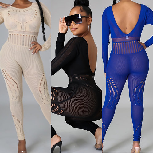 """The """"Tight Knit"""" Jumpsuit"""
