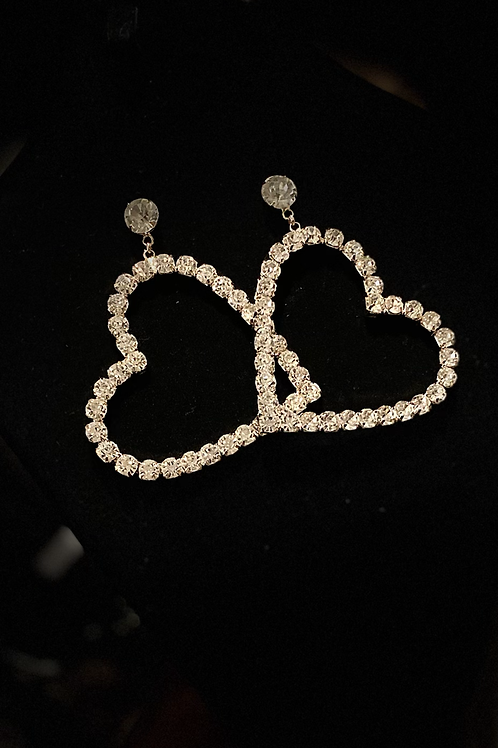 "The "" Queen of Heart"" Earrings"
