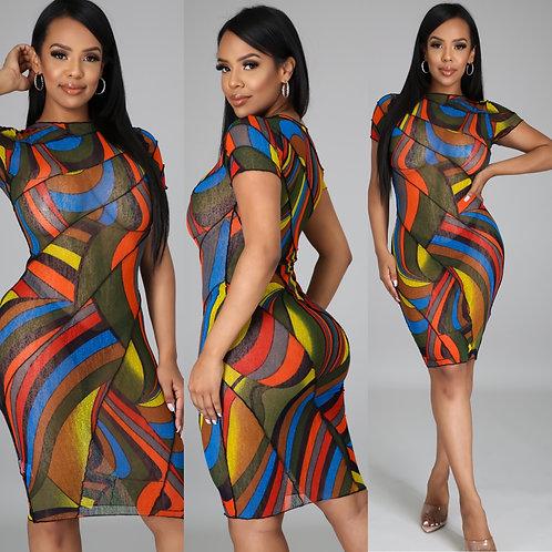 "The ""Work of Art"" Dress"