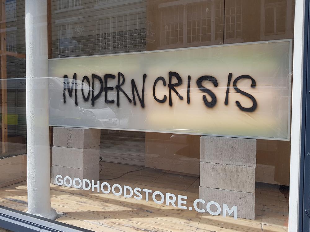 window display - Goodhood store, London, England