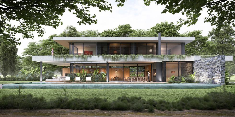 House Olivos Golf -Arq.Andres fernandez Abadie y Arq.Facundo Carenzo