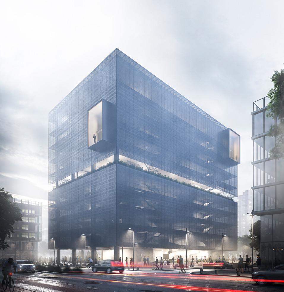 Edificio para la educacion del futuro - Estudio Silberfaden