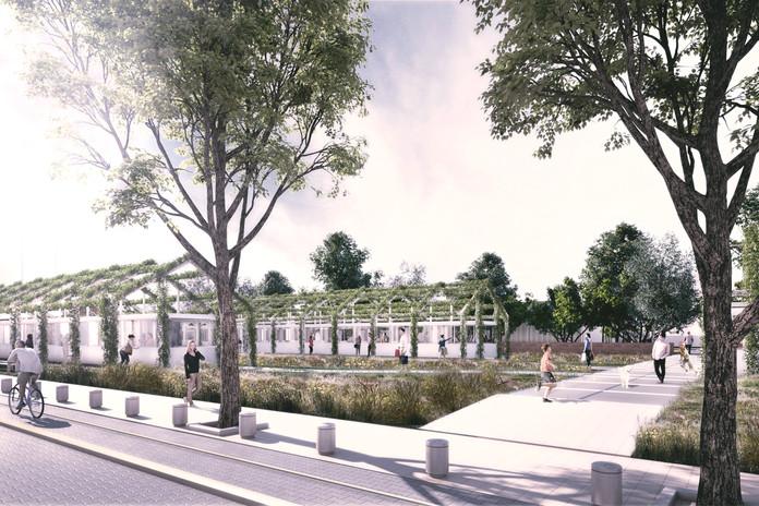 Proyecto Ganador para urbanización en Colegiales / Colaboramos para el estudio www.n-o-a.net