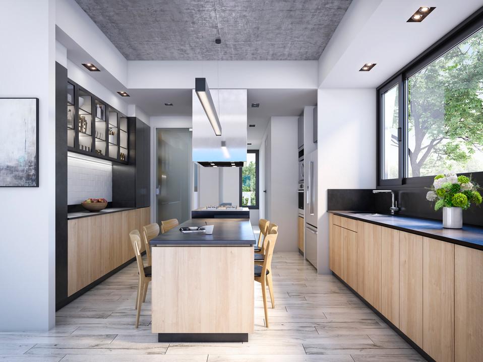 Cocina Casa los Ceibos / PEM