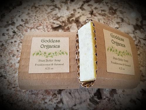 Frankincense & Oatmeal Shea Butter Soap
