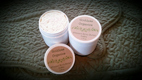 Whipped Body Butter -Coffee