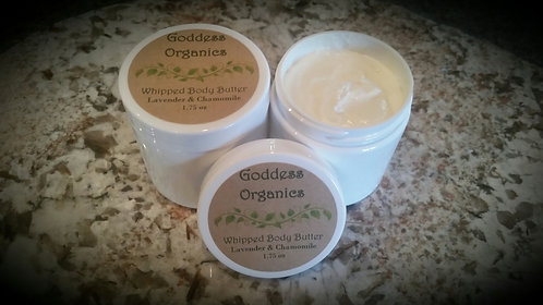 Whipped Body Butter - Lavender & Chamomile