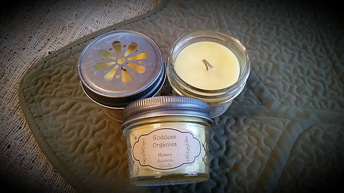 Honey Beeswax Candle