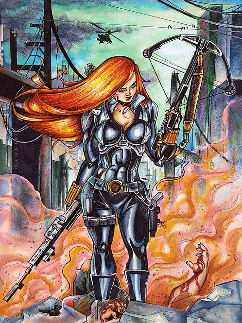 The Black Widow - Prints