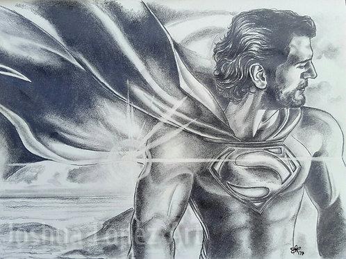 Superman (Black & White) - Prints
