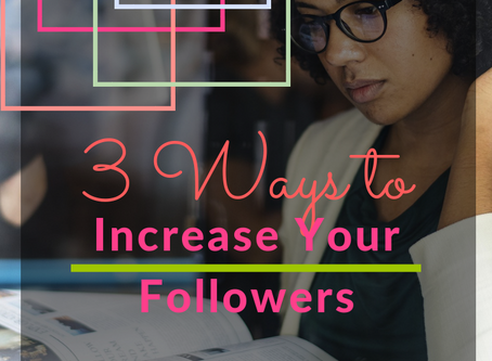 3 Ways to Increase Your Followers with Your Instagram Bio