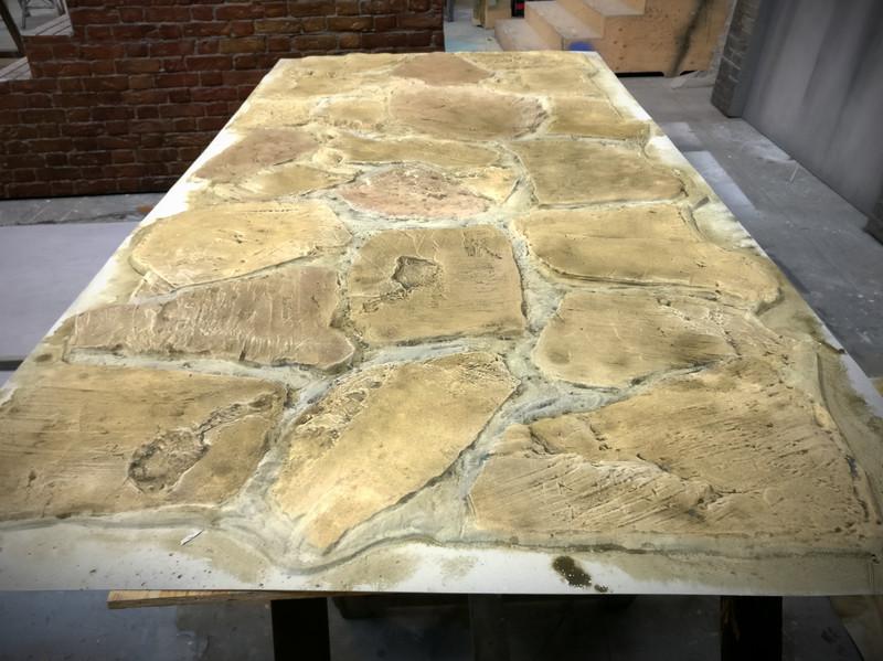 Stonework (Painted vacform)