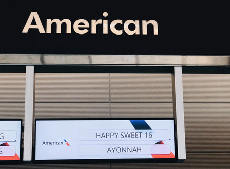 American Airlines Surprise Party!