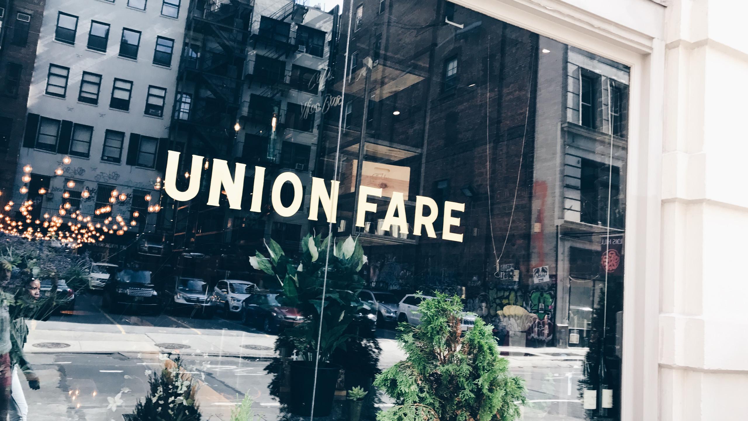 Union Fare
