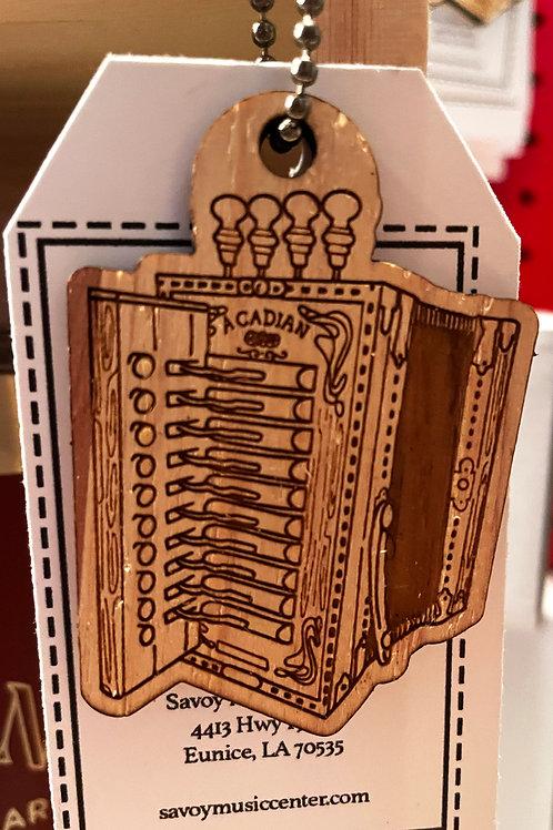 Accordion Keychain