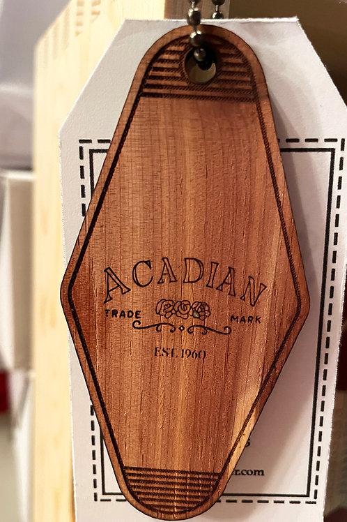 Acadian Trade Mark Keychain