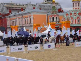 Артисты «Росгосцирка» стали участниками фестиваля «Спасская башня» на Красной площади