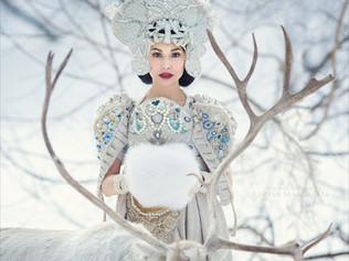 Русская Зима в фото-проекте Маргариты Каревой