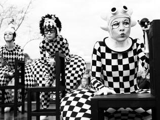 Основатели уличного театра «Черный Квадрат» Всеволод Соколов и Василий Жильцов о своем творчестве и