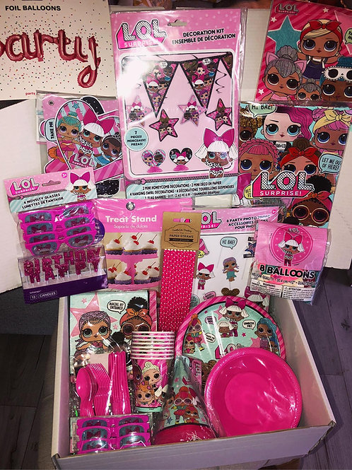 L.O.L Surprise Party Box (8 Guests)