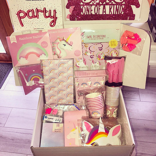 Unicorn Party Box (8 Guests)