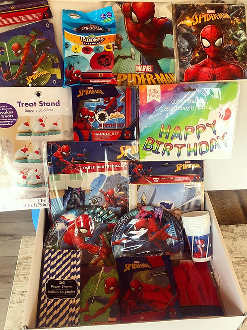 Spiderman Party Box (8 Guests)