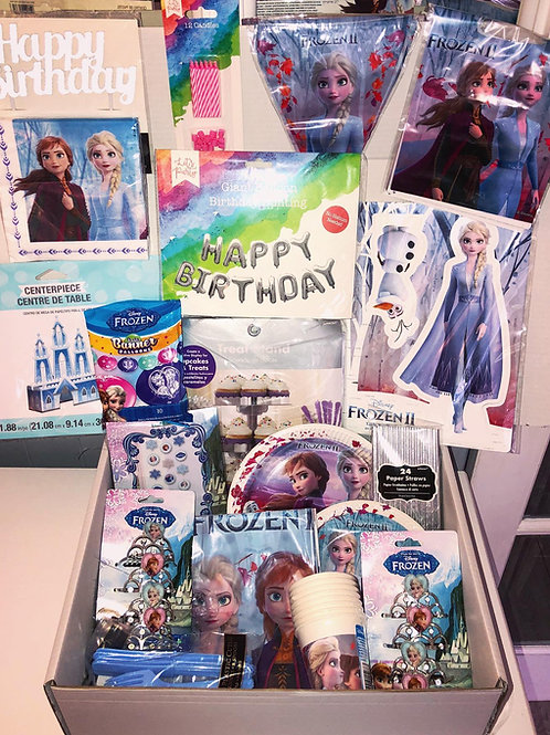 Frozen 2 Party Box (8 Guests)