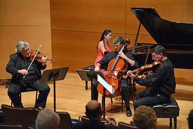 Andres Cárdenes, violin; Andres Díaz, cello; Roberto Díaz, viola; Gloria Chein, piano
