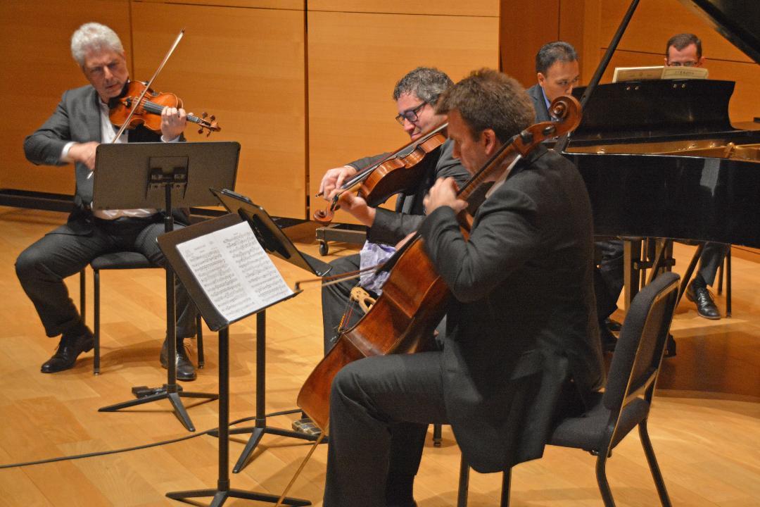 April 6 Concert Gary, Jon, Michael, Edwa