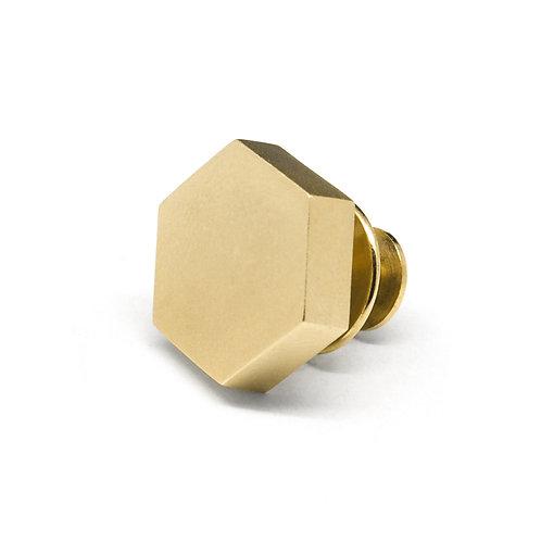 KNOT Pin / 18K Yellow Gold