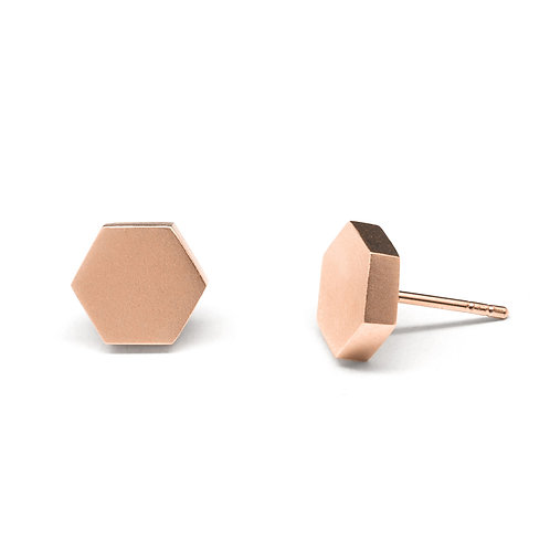 KNOT Earrings / 18K Rose Gold