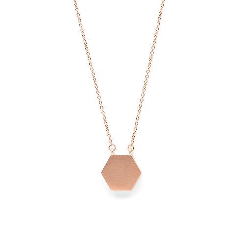KNOT Necklace / 18K Rose Gold