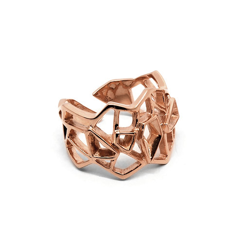 WIREFRAME Ring / 18K Rose Gold