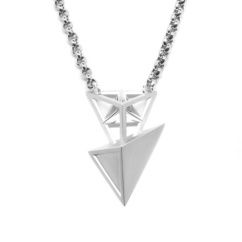 Secret BERMUDEZ Necklace / White Gold