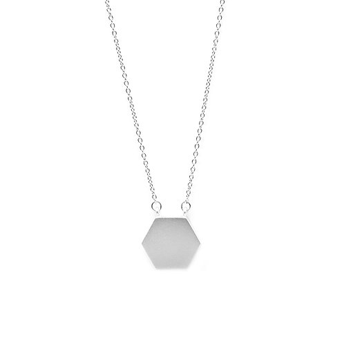 KNOT Necklace / White Gold
