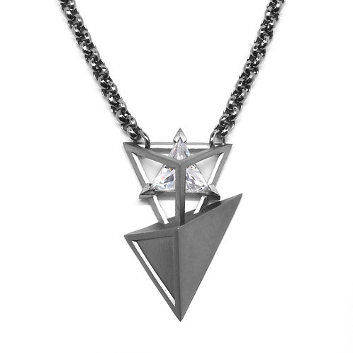 Treasure BERMUDEZ Necklace / Gun Metal