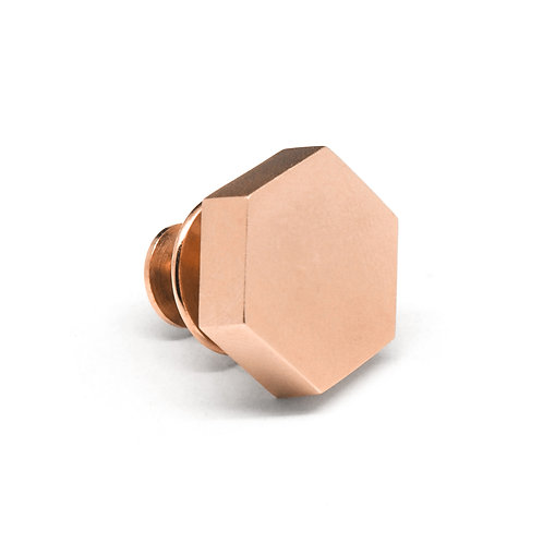 KNOT Pin / 18K Rose Gold