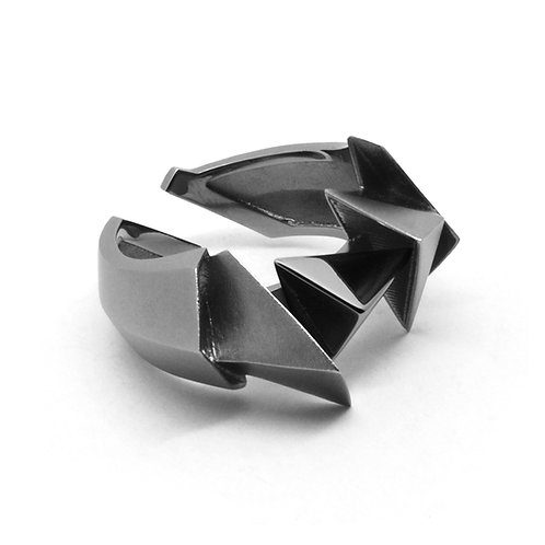 BERMUDEZ Ring / Gun Metal