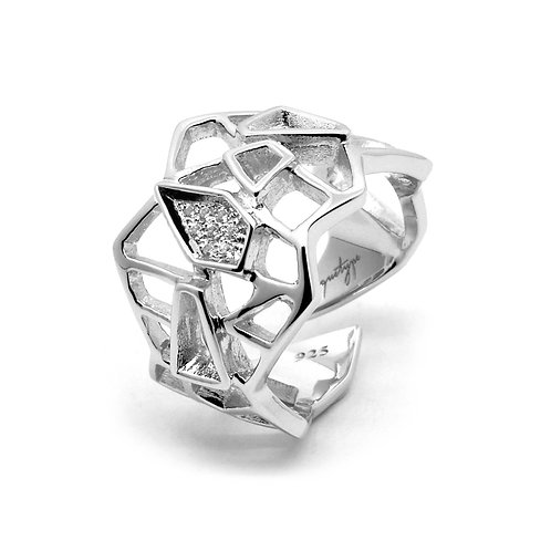 Diamond WIREFRAME Ring