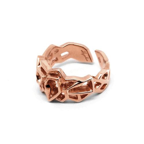 WIREFRAME Ring (S) / 18K Rose Gold